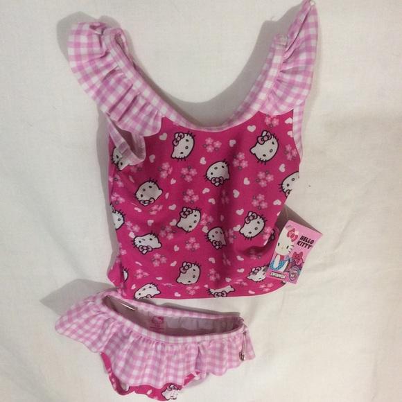 17105a655d Hello Kitty Swim   Baby Suit   Poshmark
